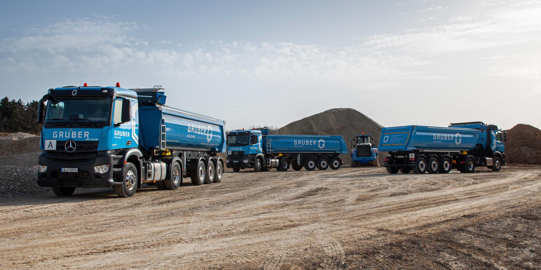 Kiesgrubenbetrieb Baulogistik - Gruber Holding, Sauerlach
