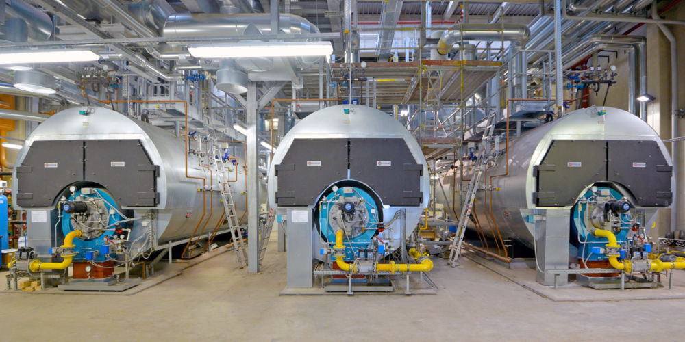 Hochdruckdampferzeugung Energiezentrale Klinikum Grosshadern, München