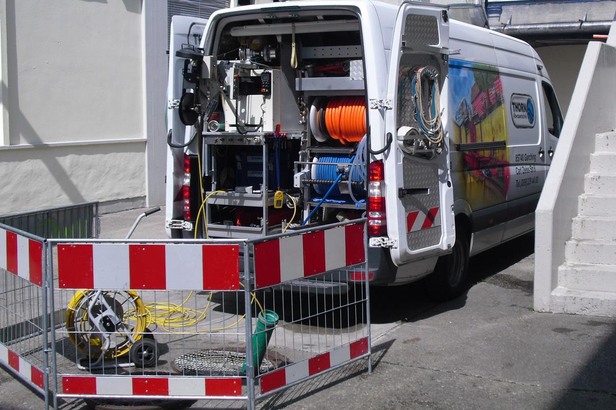 Kanalreinigung, Kanalsanierung Thorn, GRUBER Holding, Sauerlach